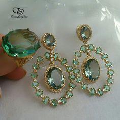 Stone Earrings, Stone Jewelry, Gold Earrings, Diamond Jewelry, Gold Jewelry, Jewelery, Kids Earrings, Simple Earrings, Wedding Jewelry