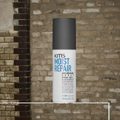KMS MOISTREPAIR Anti-Breakage Spray is designed for all hair types: spray into mid-lengths and ends or apply directly to damaged areas. Leave in and follow with styling. #kmshair #stylematters