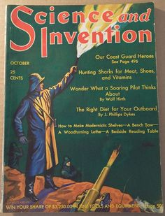 OCT 1930 SCIENCE AND INVENTION MAGAZINE- DUNNINGER MAGIC, SAM LOYD PUZZLES