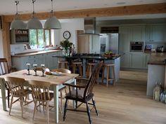 Potton kitchen