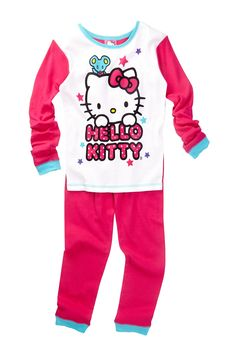 Hello Kitty Cotton PJ Set (Little Girls