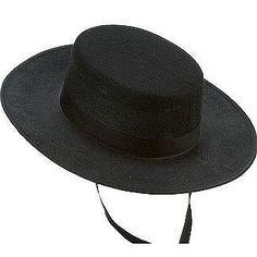 Sombrero cordobés. Andalusian hat. www.leondisfraces.es