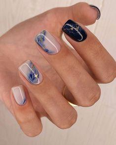 "Маникюр Дизайн ногтей Ногти on Instagram: ""Маникюр от @tali_nail г. Москва .  Девочки, кому понравился этот маникюр, оставляйте любой смайл в комментариях. Для меня это очень…"" Chic Nails, Stylish Nails, Swag Nails, Fun Nails, Nail Ring, Nail Manicure, Nail Polish, Ombre Nail Designs, Nail Art Designs"
