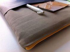 Schritt-für-Schritt Anleitung für eine Notebook-Tasche