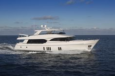 The Ocean Alexander Yachts 100 solves two interesting space problems: she's small enough for some buyers while being large enough for others.