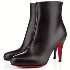 Christian Louboutin Bello Black Ankle Boots - Fashion and Love