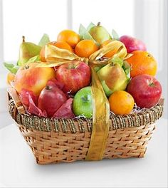 The Goodness Fruit Basket is a gift of nature's finest treats! Arriving in a beautiful natural woven basket loaded with exceptional fruits,  This lovely collection of fruit is a wonderful way to send your sweetest sentiments across the miles. <<CategorySEOProductPrefix>> . - $89.97 Available online for worldwide delivery at Brant Florist.