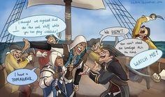 Kenway quarrel...haha!