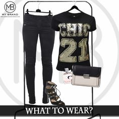 Wear our Chic 21 sequin tee!