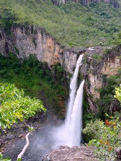 Chapada dos Veadeiros - Cachoeira Salto do Rio Preto 04