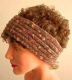 Ravelry: Meringue Headband - Ear Warmer pattern by Crystal Palace Yarns: Possible Winter project!