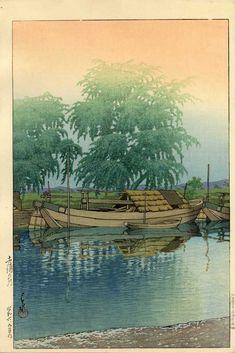 イメージ3 - 「手賀沼」制作80周年記念 『川瀬巴水木版画展』 (その1)の画像 - 迷い鳥のブログ - Yahoo!ブログ