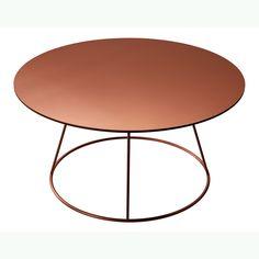 Breeze bord 80 cm, slät skiva, koppar från Swedese – Köp online på Rum21.se