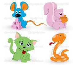 Pinterest dibujos | Cute Cartoon Animals Pictures