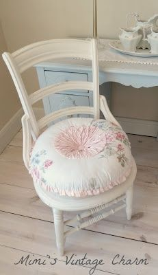 HTF Rachel Ashwell Simply Shabby Chic Pet Bed - Pink Roses Green Chenille and White Stripes