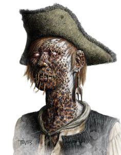 Zombie Pirate - Krispy