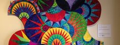 Get a preview of the Art Quilts Whimsy in Cary, NC!