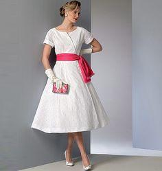 Vogue 9105 Vogue 9105 Robe, vintage,  taille 34 à 42 et 42 à 50