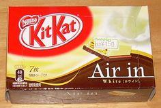 Kit Kat Japan Flavors | Japanese Snack Reviews: KitKat Air In White