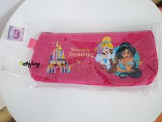 Licensed Cute Disney Princess Cinderella Jasmine Aladin Pencil