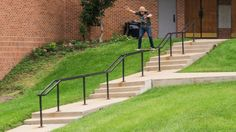 This is Dave Mull. He has a brother named Steve, who also has a part up right now. We strongly suggest you watch both videos.These guys are really pushing the way skateboarding can be done and are just gnarly!!