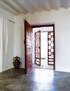Puerta de diseño | Restauración de un Cortijo en la Mancha | Benjamin Cano