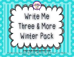 $4 Write Me Three & More Winter Pack