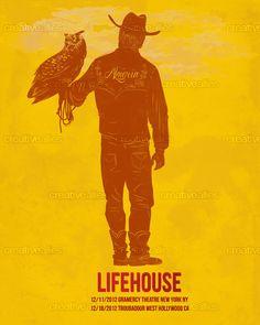 Lifehouse Poster by cucubaou on CreativeAllies.com