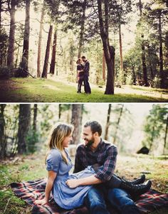 Ahhh engagement pictures! Lovin the flannel