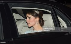 Catherine, Duchess of Cambridge attends the Diplomatic Reception at Buckingham Palace on December 8, 2015 in London, England.  (Photo by Mark Cuthbert/UK Press via Getty Images)