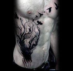 The side tattoos for men are more defining than any other, and when drawn one cannot miss noticing the striking beauty of the rib tattoos. As the name suggests, they are inked on the rib…