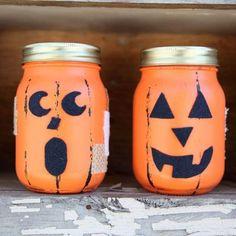 Jacked Up Halloween Jars