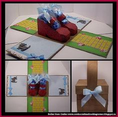 Dollar Store Crafter: DIY Wizard Of Oz Ruby Slippers Gift Box / Easter B...