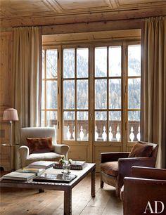 dustjacket attic: Interiors | Saint Moritz: Switzerland