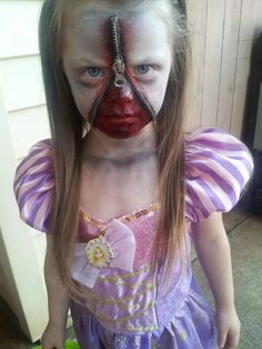 Great Halloween costume. Pin now, look later when I want my kid to freak the shit out of all her friends.