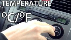 How to change #temperature units in #VW #Climatronic #Golf #Touran #Passat #cars #service