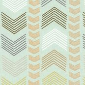 Herringbone Stripe in Harvest by sparrowsong, Spoonflower digitally printed fabric