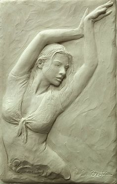 Sutton Betti Sculpture and Drawings: #68 Plaster cast reliefs - like the plaster…