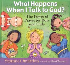 Teaching kids about the power of prayer. We love this book!!!