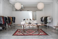 WMV visvim Brentwood Pop-Up Store Open Now Shop Clothing Accessories Tote Bags Shoes Trainers Kicks Sneakers Shop Interior Design, Store Design, Design Shop, Design Design, Brentwood Country Mart, Shabby, Elderly Home, Store Windows, Pop Up Shops