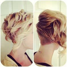 Simple Short Hairstyles: Messy Layered Curls - Damn - I remember having this one in the 80s.  I loved it then and I love it now!