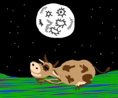 Cow slept under the moon drawing by tydlitadytydlitam - Drawception Funny Drawings, Easy Drawings, Moon Drawing, Under The Moon, Drawing Games, Cow, Snoopy, Sleep, Classic