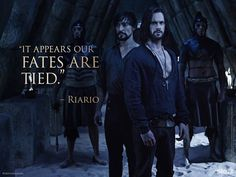 it appears our fates are tied #davincidemons da vinci demons quote