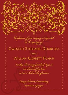 Asian wedding invitations google search wedding invitations printable wedding invitation bollywood ornate other colors available formal filigree antique hollywood elegant indian red gold plum purple silver navy stopboris Gallery