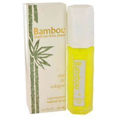 Bambou By Weil Cologne Spray 3.3 Oz