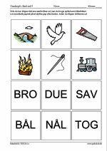 Små ord 3 1 J, Grade 1, Diy For Kids, Sange, Sprog, Language, Mindfulness, Teaching, Education