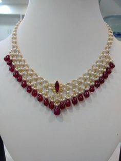 12.5 grams make pearl and ruby chain!!!!Pulimamidi Jewellers ls contact me on my mobile 9885319029 or can watsapp!! Rs 36,600