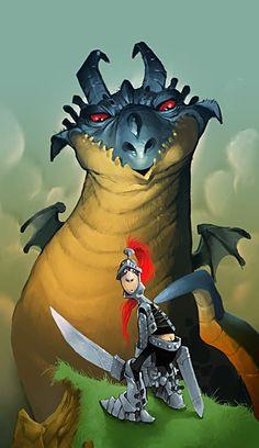Guerrero by ilusionario Estudio de animacion e ilustracion, via Behance