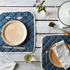 Quilted Placemats (Set of 2) - These are $36 for 2.  I'm sure I could make them.  I think they're great.