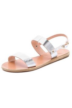 Silver Sandals Anciet Greek Clio Sandals, $185, available at Shopbop.